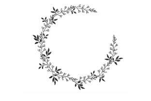 Floral Wreath Floral Wreaths Embroidery Design By NinoEmbroidery