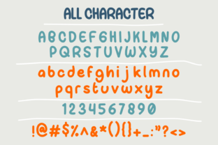 Print on Demand: Paper Candy Script & Handwritten Font By Forberas Club 6