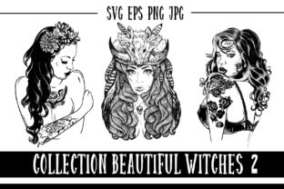 Print on Demand: Beautiful Witches 2 Graphic Illustrations By LaVika