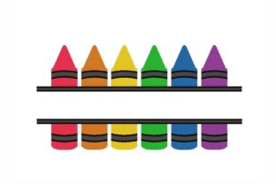 Split Pencils Back to School Embroidery Design By NinoEmbroidery