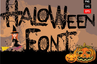 Print on Demand: Spooky Halloween Font 26 Alphabet Eps Graphic Add-ons By Funnyarti