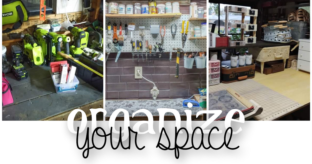 Organize Your Craft Space on a Budget