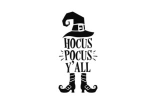 Hocus Pocus Y'all Halloween Craft Cut File By Creative Fabrica Crafts 2