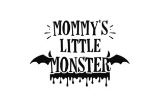 Mommy's Little Monster Halloween Craft Cut File By Creative Fabrica Crafts 2