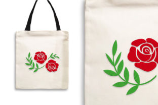 Print on Demand: Beautiful Double Rose Single Flowers & Plants Embroidery Design By Wilansa