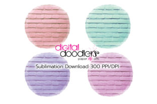 Print on Demand: Circle Distressed Sublimation Bundle Graphic Textures By Digital Doodlers 8