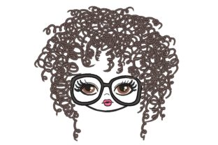 Curly Girl Boys & Girls Embroidery Design By NinoEmbroidery