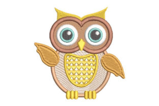 Fantastic Owl Birds Embroidery Design By Embroiderypacks