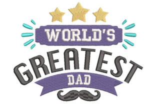 Father's Day Father's Day Embroidery Design By Embroiderypacks