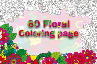 Flower Coloring Book Page Bundle ( Kdp ) Graphic Coloring Pages & Books Adults By Safe Publishing