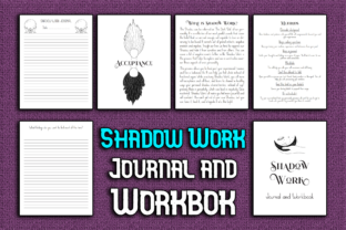 Print on Demand: Shadow Work Journal and Workbook Graphic KDP Interiors By Mary's Designs