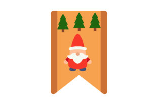 Christmas Flat Icon  Announcement Tree Graphic Icons By geometricspacestudio