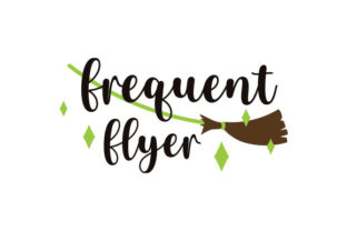Frequent Flyer Halloween Craft Cut File By Creative Fabrica Crafts