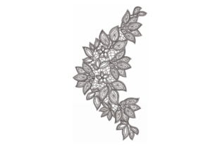 Floral Lace Floral & Garden Embroidery Design By Beginner Sewing