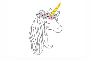 Unicorn Fairy Tales Embroidery Design By NinoEmbroidery