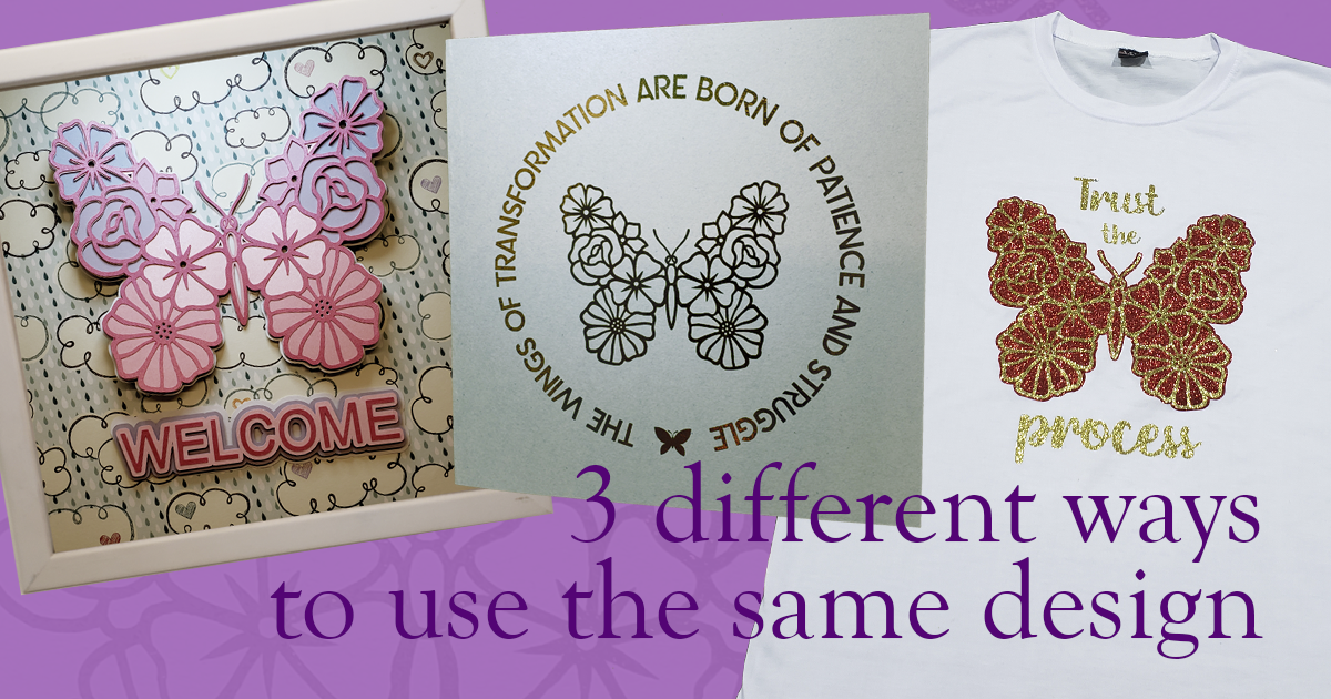 3 Different Ways to Use the Same Design!
