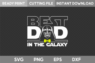 Best Dad in the Galaxy SVG Graphic Illustrations By acelea