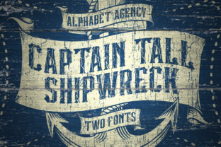 Print on Demand: Captain Tall Ship Blackletter Font By Alphabet Agency