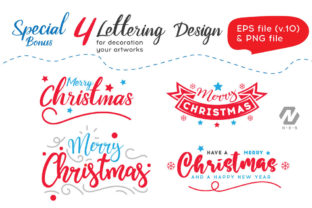 Print on Demand: Christmas Happy Land Watercolor Elements Graphic Illustrations By nesdigiart 14