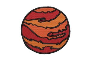 Mars Robots & Space Embroidery Design By Embroidery Designs