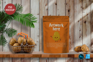 Snack Packaging | Mockup Graphic Product Mockups By Gumacreative