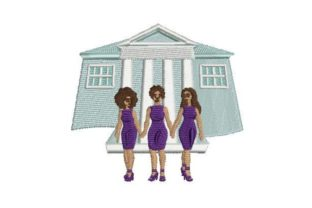 Sorority Sisters Friends Embroidery Design By Embroidery Designs
