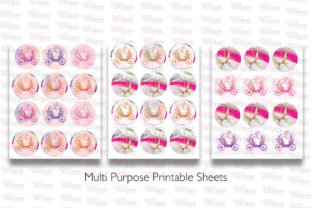 Print on Demand: All Things Pink Graphic Bundle Graphic Illustrations By Digital Doodlers 10