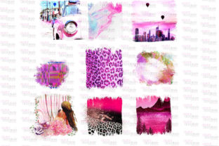 Print on Demand: All Things Pink Graphic Bundle Graphic Illustrations By Digital Doodlers 2