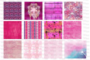 Print on Demand: All Things Pink Graphic Bundle Graphic Illustrations By Digital Doodlers 3