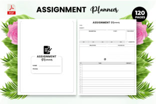 Print on Demand: Assignment Planner - KDP Interior Graphic KDP Interiors By Design invention
