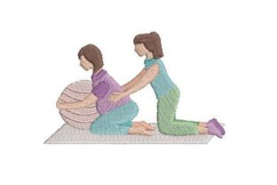 Doula Wellness Embroidery Design By Embroidery Designs