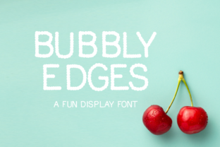 Print on Demand: Bubbly Edges Display Font By designavmad