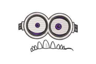 Cute Monster Face Toys & Games Embroidery Design By Embroiderypacks