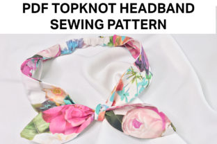 Easy Topknot Headband Sewing Pattern Graphic Sewing Patterns By Hey Vivi Designs