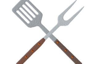 Grill Utensils Food & Dining Embroidery Design By Thread Treasures Embroidery