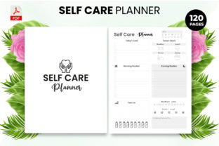 Print on Demand: Self Care Planner KDP Template Graphic KDP Interiors By Design invention