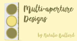 Creating designs with multiple apertures
