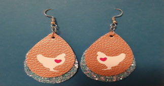Making and Designing Leather Earrings in Silhouette Studio 4