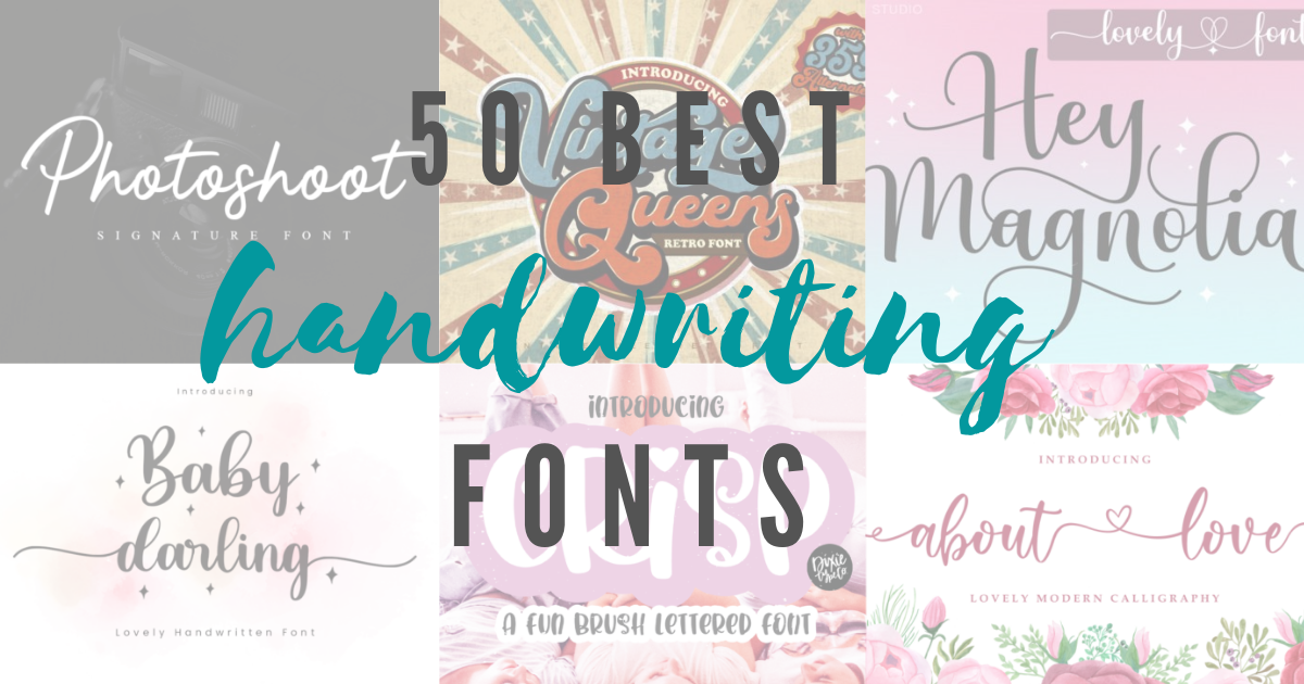 40+ Handwriting Fonts For Every Creative Project You Need (Free & Premium)