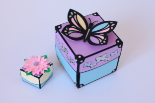 Butterfly Exploding Box 3D - 2