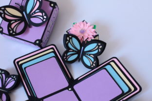 Butterfly Exploding Box 3D - 4