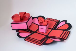 Exploding Box 3D SVG 3D SVG Craft Cut File By Creative Fabrica Crafts 1