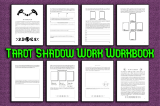 Print on Demand: Tarot Shadow Work Workbook Journal KDP Graphic KDP Interiors By Mary's Designs