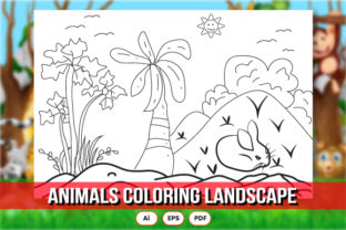 About Animals Kids Coloring Page Graphic Coloring Pages & Books Kids By fabricstock