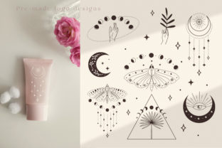 Divine Beauty Pre-Made Logo Designs. Graphic Logos By Olya.Creative