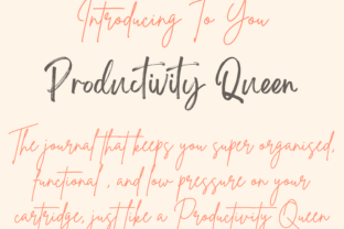 Productivity Planner Template Pages - 2