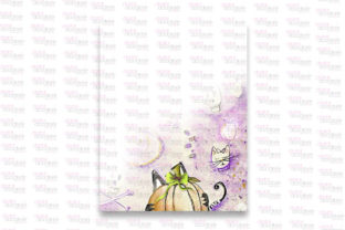 Print on Demand: Mummy Kitty Stationery Graphic Patterns By Digital Doodlers 3