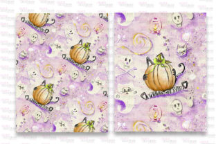 Print on Demand: Mummy Kitty Stationery Graphic Patterns By Digital Doodlers 5