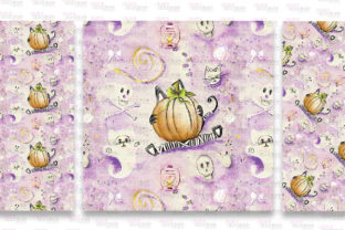 Print on Demand: Mummy Kitty Stationery Graphic Patterns By Digital Doodlers 8