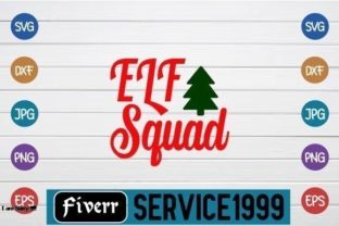 Elf Squad Graphic Print Templates By fiverrservice1999